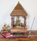 Handcrafted Wooden Temple Mandir Altar-Religious Home Decor (Assembly required ) - HolyHinduStore