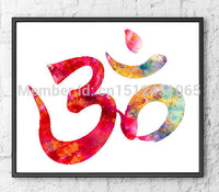 New Modern Shiva wall art picture for living room bedroom home wall art decor canvas Print painting print art - No Frame - HolyHinduStore
