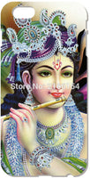 Lord Krishna Cell phone Cover - For iphone 5 5S SE 5C 6 6S, Touch 5  6 and for Samsung Galaxy  J1 J3 J5 J7 A3 A5 A7 A8 - HolyHinduStore