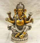 Tibet 6 Arms Lucky Ganapati /Ganesh/Lord Ganesha Statue - HolyHinduStore