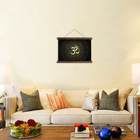 HD printed hindu symbols pictures and posters hanging canvas - Yoga - HolyHinduStore