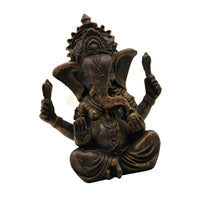 Ganesha Statue - Religious Blessing Figurine | Home Art Decor |  Auspicious Ornaments - HolyHinduStore