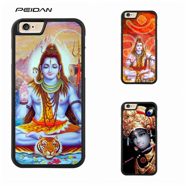 Lord Shiva iPhone case for iPhone X, 4, ,4s, 5, 5s, 6, 6s, 7, 8, 6 plus, 6s plus, 7 plus, 8 plus - HolyHindu