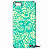 Aum Om Symbol Yoga Print Hard Phone Case For iPhone X 4 4S 5 5C SE 6 6S 7 8 Plus Galaxy J5 J3 A5 A3 2016 S5 S7 S6 Edge - HolyHinduStore
