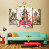 3-4-5 Pieces Saraswati Lord Ganesha God Poster Modern Wall Art Canvas Printed Painting for living Room Modular Pictures - HolyHinduStore