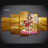 Canvas Posters Wall Painting Hindu Kali Art Picture Canvas Prints Home Decor - HolyHinduStore