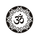 High Quality Yoga Religion Wall Decal Om Sign Symbol Amulet Home Wall Stickers Living Room Waterproof Mandala PVC Stickers SYY66 - HolyHinduStore