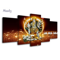 HD Hindu God  Kali Art Poster -  Living Room Home Decor Decoration - HolyHinduStore