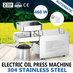 Automatic Powered Oil Press Machine  for Home Use / Oil Extractor - HolyHinduStore