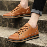 Men's vintage stitched shoes