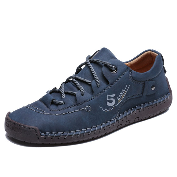 Casual Leather Handmade Shoes For Men - TIAN BULON