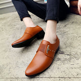 Oxford Business Shoes in Leather for Men - ECTIC - KL1543