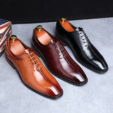 Oxfords Business Man Leather Shoes - DXKZMCM-317