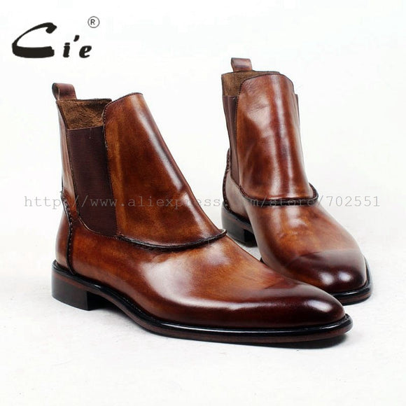 handmade 100% genuine calf leather boot for men - A94