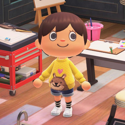 animal crossing new horizons custom sweater