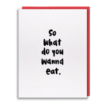 Card - What To Eat?