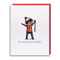 Card - You Found Waldo!