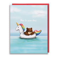 Card - Unicorn Floaty