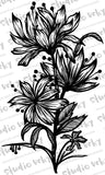Digital Stamp - Etched Florals
