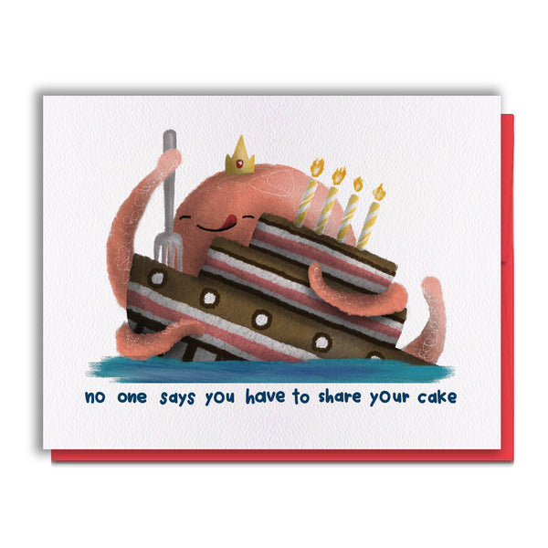 Card - Eat Your Cake