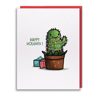 Card - Cactus Tree