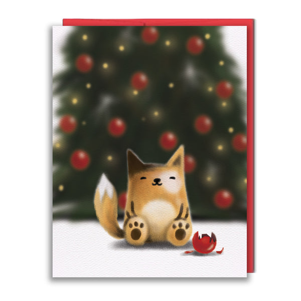Card - Holiday Balls