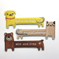 Sticker Patch - Wild And Free