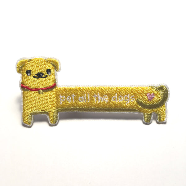 Sticker Patch - Pet All The Dogs