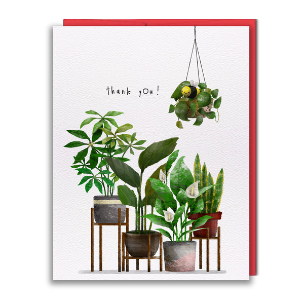 Card - Thank You Plants