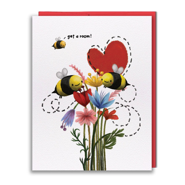 Card - Get A Room, Bees