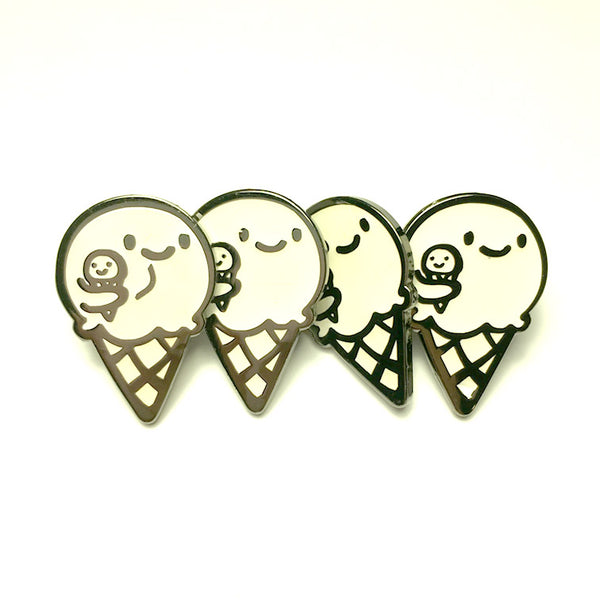 SECONDS SALE!!! Enamel Pin - Ice, Ice Baby