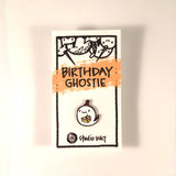 Enamel Pin - Birthday Ghost