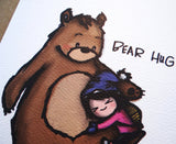 Card - Bear Hug