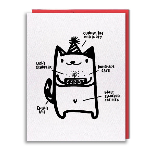 Card - Cat Peen
