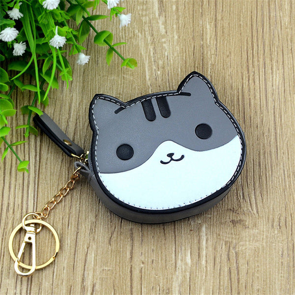 Neko Atsume Coin Purse with Key Chain
