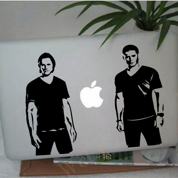Supernatural Sam and Dean Winchester Vinyl Decal Stickers