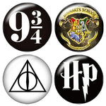 Harry Potter Photo Glass Cabochom (Lot of 10 Each)