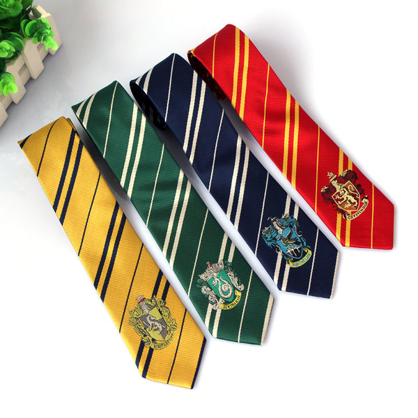 Harry Potter Hogwarts House Ties