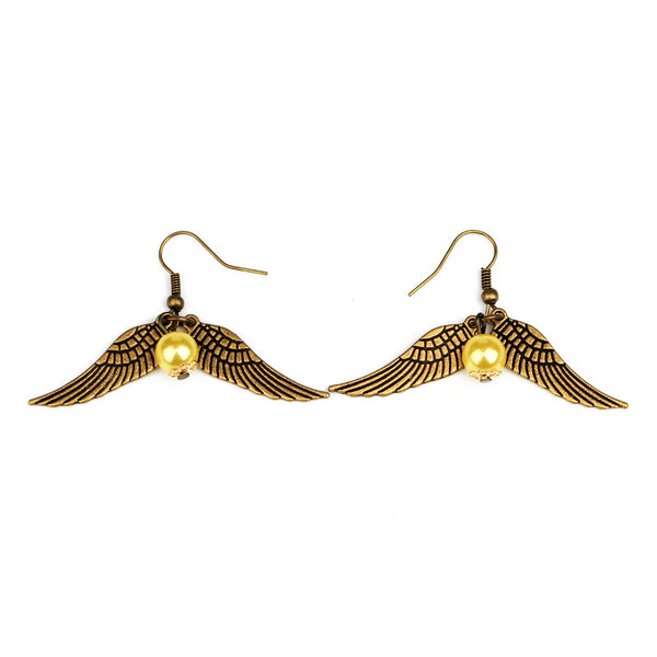 Harry Potter Dangle Snitch Earrings