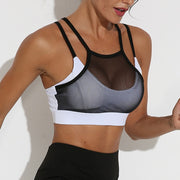 Mesh Breathable Sport Bra\