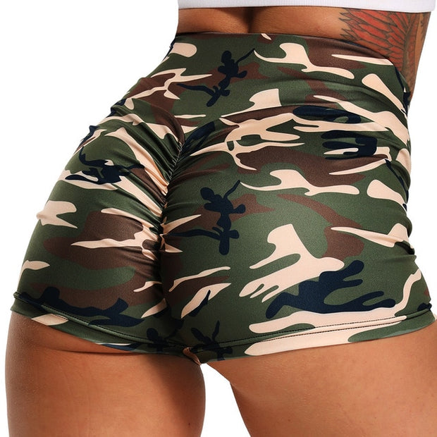 High Waist Seamless Sport Shorts