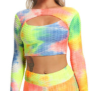 Tie-dye Reversible Crop Top