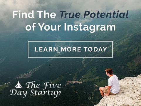 Instagram Marketing The Five Day Startup
