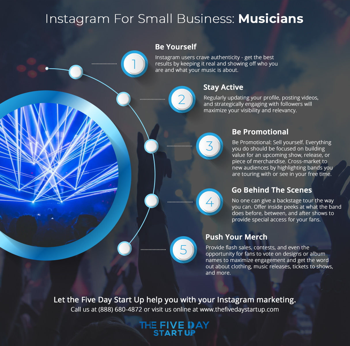 Instagram For Small Business Musicians Blog The Five Day Startup