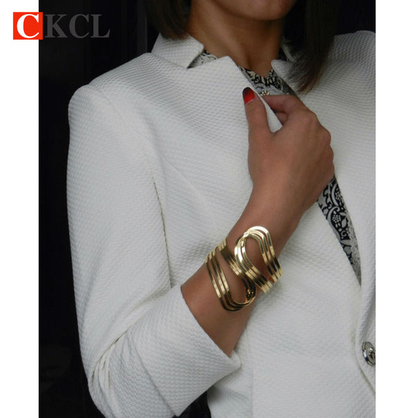 Fashion Gold Color Cuff Bracelets