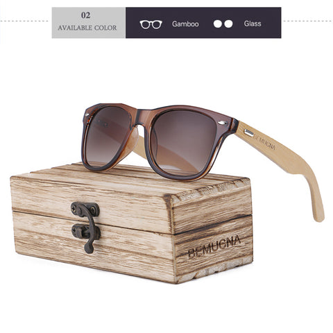 Original Wood Latest Fashion Bamboo Sunglasses Designer