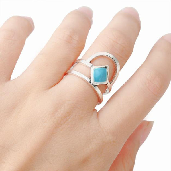 Women's Fashion Diamond Drip Ring