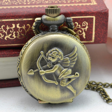 Vintage Steampunk Retro Bronze Design Pocket Watch