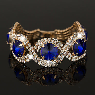 Rich and luxurious! Chic Rhinestone Fashion Bracelet
