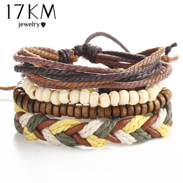 Multi-layer Leather & Bead Bracelets - 9 styles to choose from!